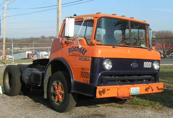 old cab over semi | Thread: Remembering Roadway Cabovers as a kid..