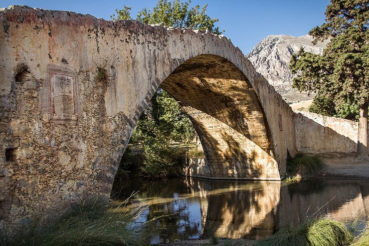 Old bridge near Preveli (Crete, Greece) | Flickr - Photo Sharing!