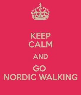 Maintenez le calme et allez à la marche nordique