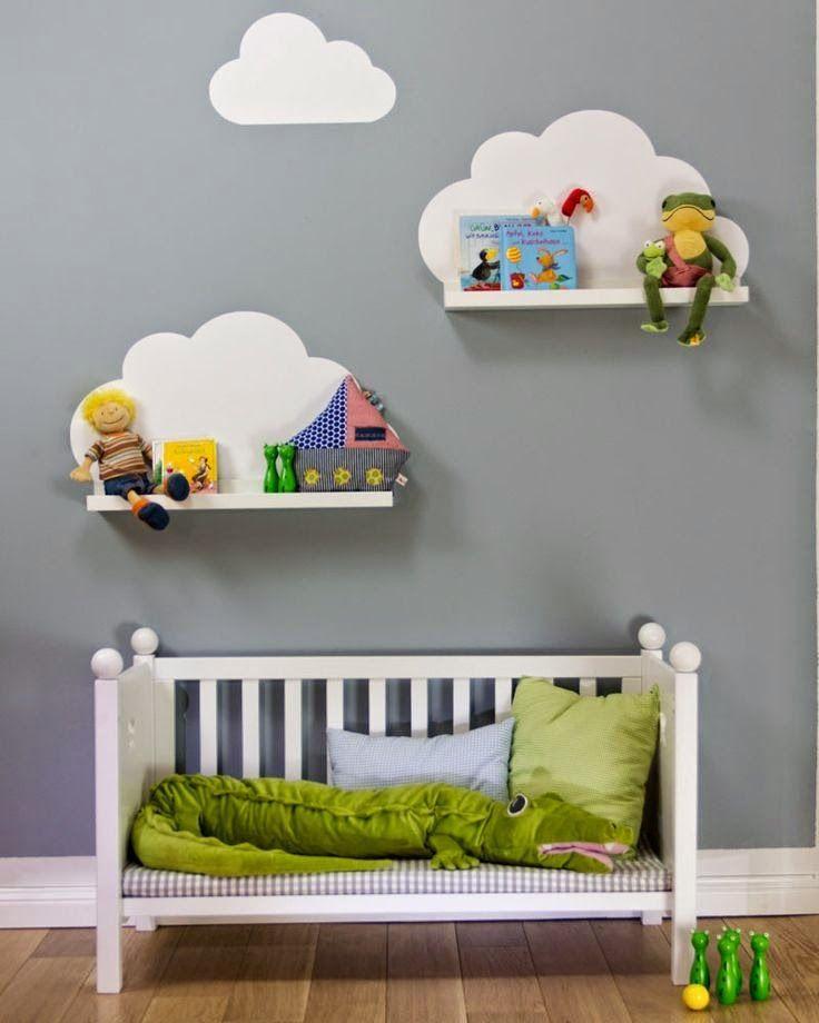 Ideias para decorar as paredes do quarto de bebê e crianças
