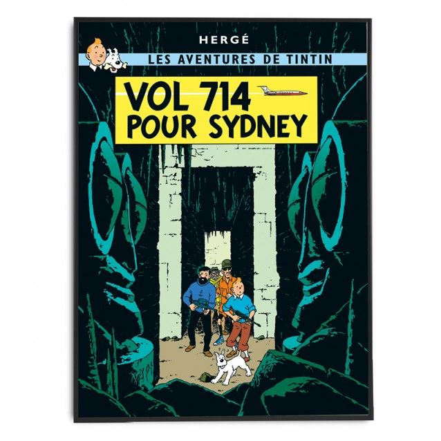 Vol 714 pour Sydney – Poster