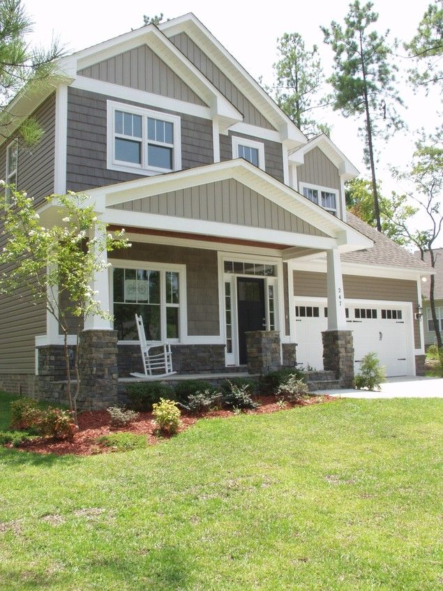 Mascord Plan 2164A - The Malone - Two Story Craftsman Plan with 4 Bedrooms