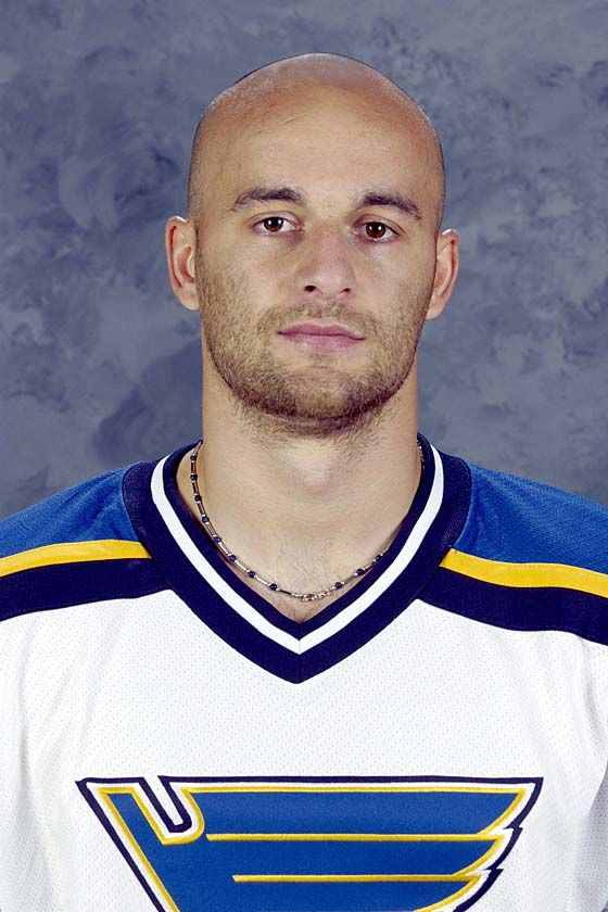 Pavol Demitra--One of my favorite former Kings and Captain of the the Slovakian National team..So sad he had to die in that Lokomotiv plane crash!