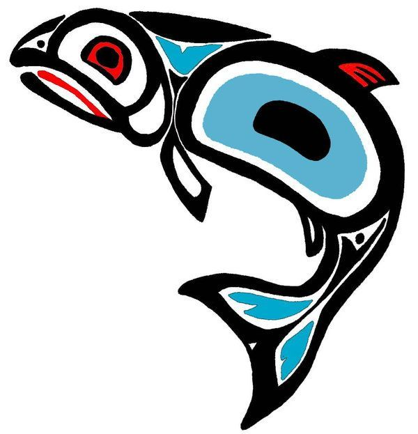 Image result for native american fish