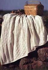 Northeast Knitting Mills cotton blanket, $35 (Made in Fall River, Massachusetts) #madeinusa #madeinamerica