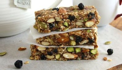 Blueberry Bliss Protein Bars