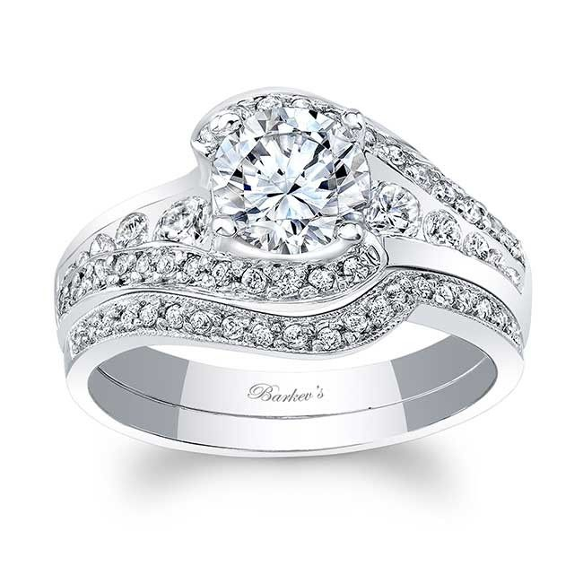 Barkevs Collection Of Bridal Sets Incorporates A Beautiful Diamond Wedding Band With Our Traditional Engagement Ring Settings