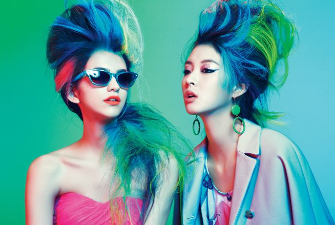 Defy boring hair with these high-octane looks from master hairstylist Eugene Souleiman.
