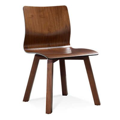 Show Details For Model 112 Walnut Plywood Chair