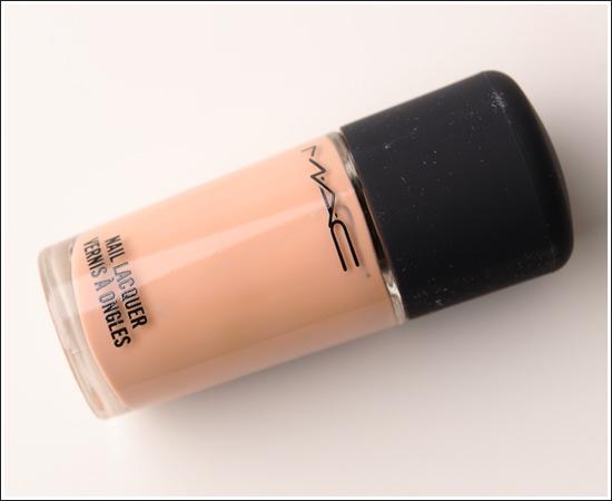 MAC Myth Nail Lacquer, Lipglass, Lipstick