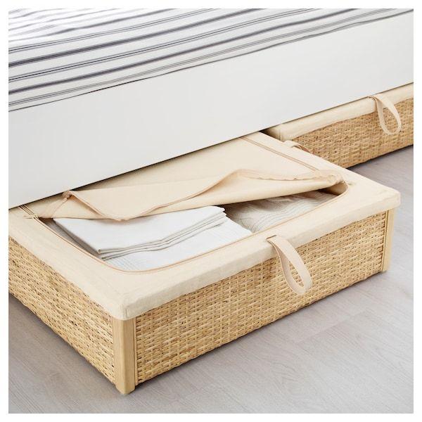 Underbed Storage Box R 214 Mskog Rattan In 2019 Bedroom