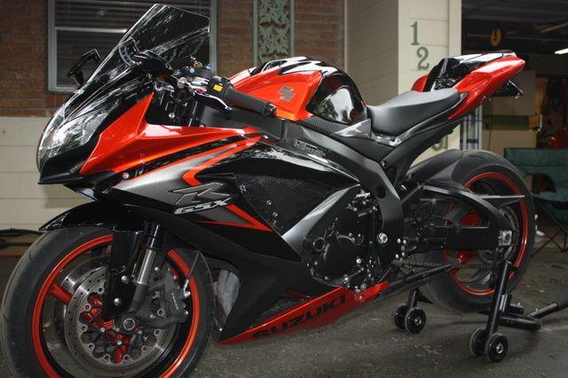 2008 Suzuki GSXR 750 - Clean Street Bike - Tampa - SoFlaSportbikes ...