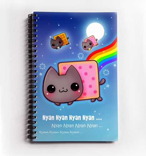 I found Kawaii Nyan cat - Notebook on Wish, check it out!