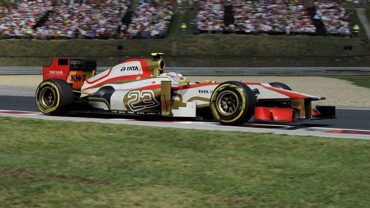 2012 GP Węgier (Hungaroring) HRT F112 - Cosworth (Narain Karthikeyan)