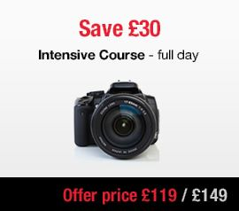 intensive dslr beginners photography course London winter 2014 Sale