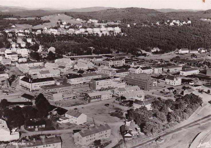 Steinkjer Nord-Trøndelag 1950-tallet. Harstads forlag