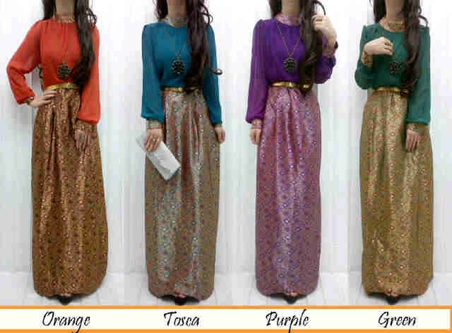 maxi songket @125rb