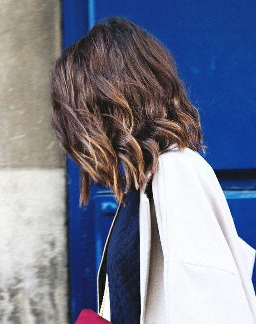I like this hair style/length. I don't  want to have my hair stacked, though. Soft, long layers.