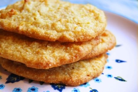 Almond Orange Coconut Cookies