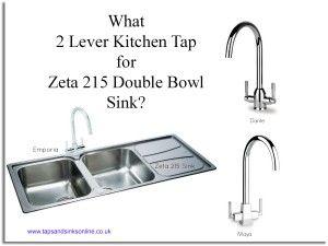Blog: Zeta 215 double bowl sink and kitchen taps