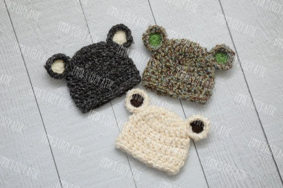 Baby bear hat. Would love for winter. than momma and baby can match in their bear toques.