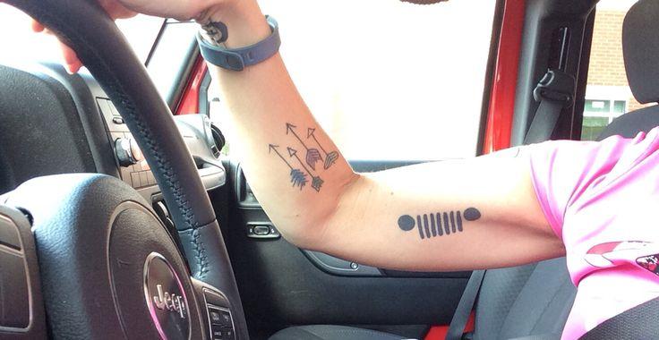 Jeep Grille tattoo-