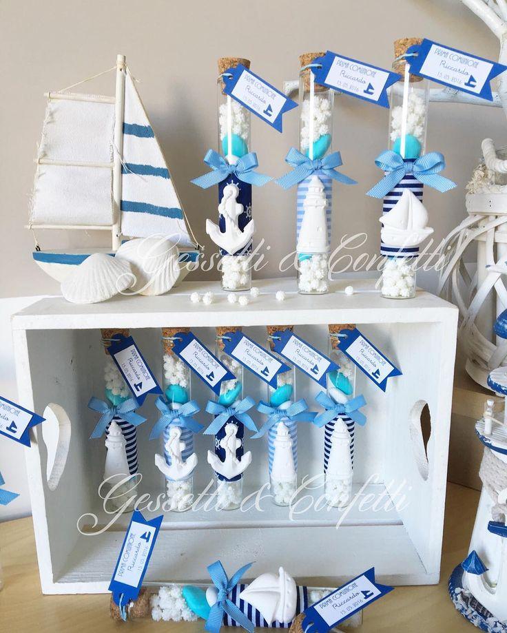 #bomboniere #comunione #gessettieconfetti #navy #primacomunione #partyfavor FB : Gessetti & Confetti IG : gessettieconfetti