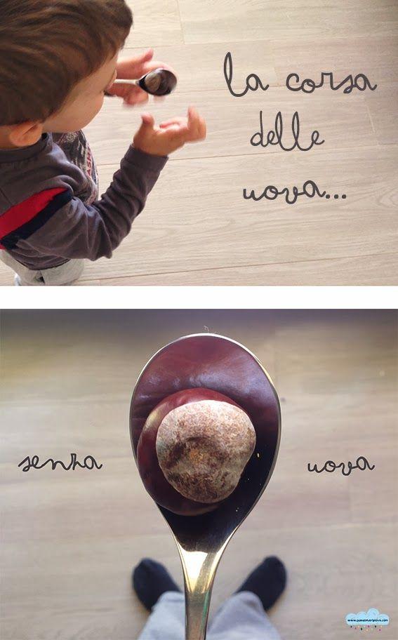 Quandofuoripiove: Giochi da fare in casa: è una questione di equilibrio! (La Goccia di Novembre)