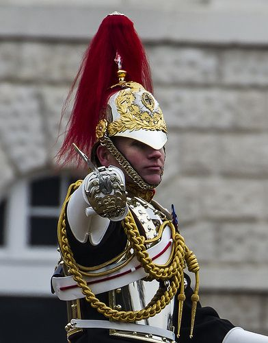 Household Cavalry Mounted Regiment, Major-General's Review, Horse Guards, March 2013