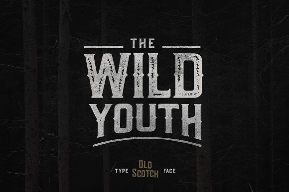 Old Scotch Typeface - 7 Styles by pratamaydh on @creativemarket