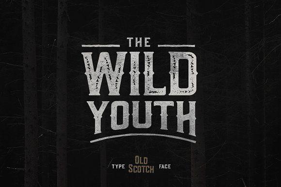 Old Scotch Typeface - 7 Styles by pratamaydh on @creativemarket