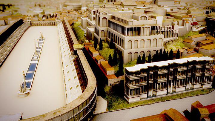 Rome Reborn est une initiative internationale dont l'objectif est la création de modèles 3D pour illustrer le développement urbain de la ville de Rome antique