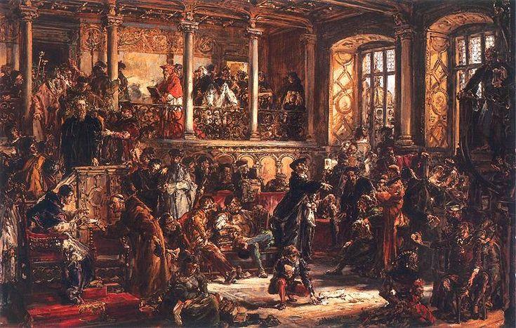 Złoty wiek literatury w XVI wieku - Reformacja - Przewaga katolicyzmu