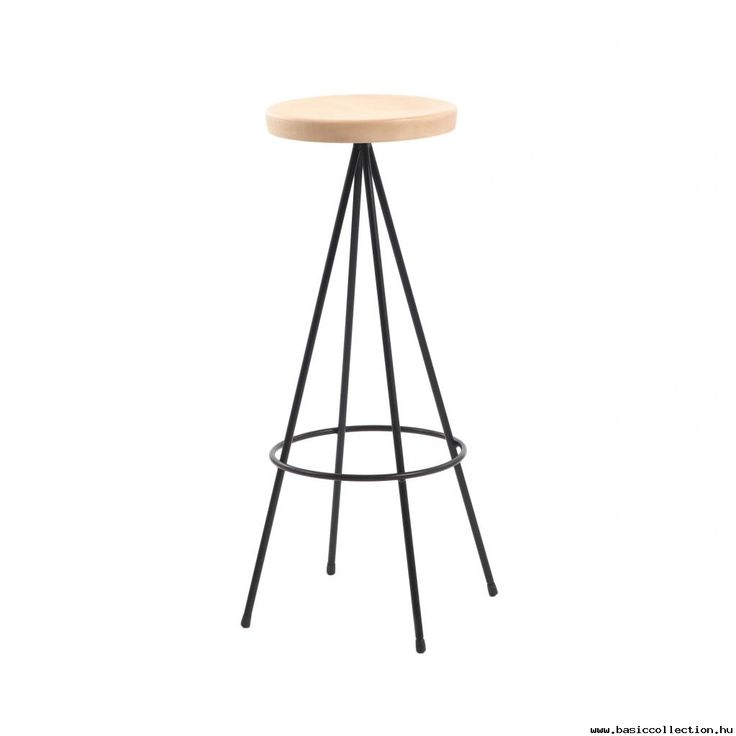 Miru stool #basiccollection  #stool  #barstools  #metalframe  #wooden