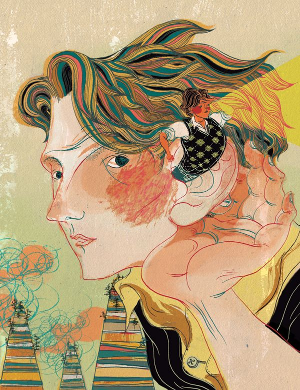 Editorial Archive by Victo Ngai, via Behance