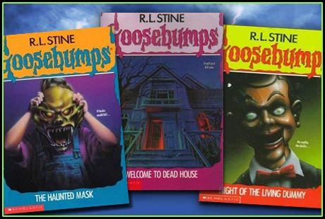 Original goosebumps series art c95dfd28c7