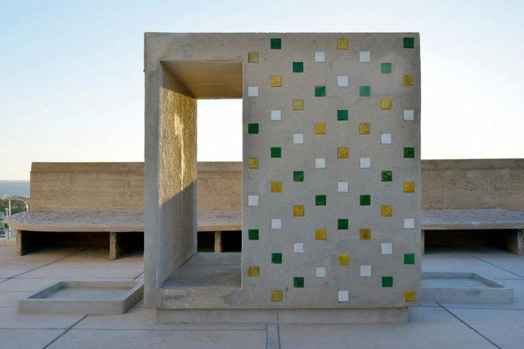 Designartnews.com - Xavier Veilhan, Cité Radieuse - Le Corbusier, Marseille
