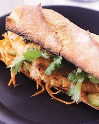 Sweet and Spicy Catfish Sandwiches Recipe from Food & Wine