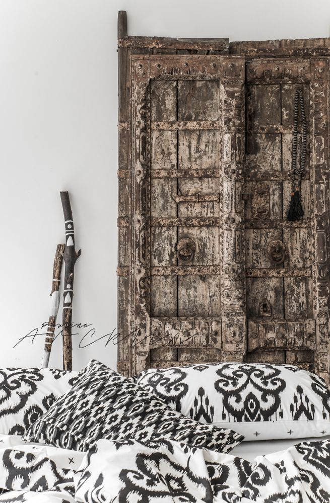 © Paulina Arcklin | NOMADS Panthera Ikat bedding available on www.bohzaar.co.uk
