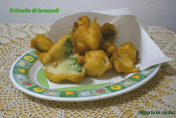 FRITTELLE DI BROCCOLI http://blog.giallozafferano.it/allegriaincucina/frittelle-di-broccoli/