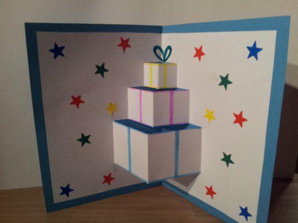 Librairie-Interactive - Cartes de noël 3D (sapins et cadeaux)