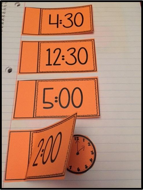 Interactive Math Journals for TELLING TIME. Templates include time to the half-hour and to the 5 minute interval.