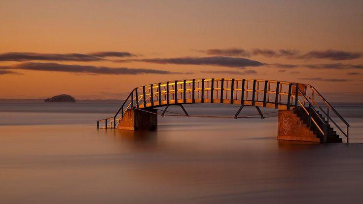 Belhaven Bay Bridge, Firth of Forth, Scotland