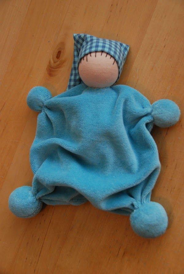 Poppenatelier Severine: Voor een pasgeboren jongetje/ For a newborn boy