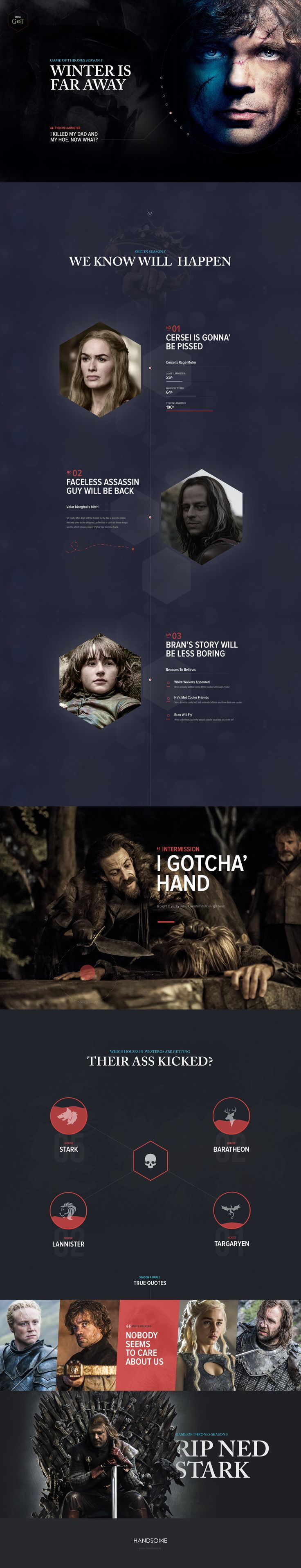 Game of Thrones Season 5 plots via @handsome.is