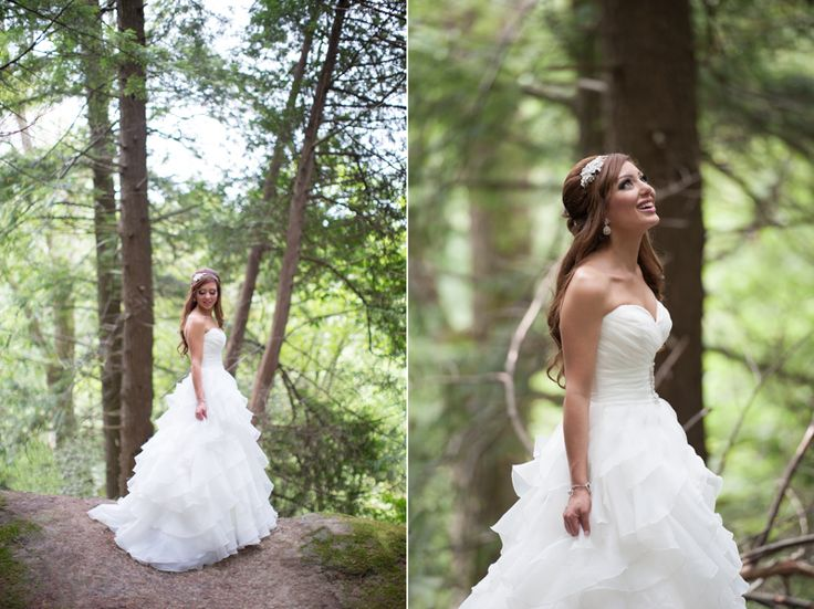 McMichael Art Museum bride, love the natural light