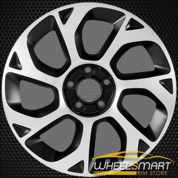 16 Fiat 500 Rims For Sale 2014 2018 Black Oem Wheel 61668 Rims