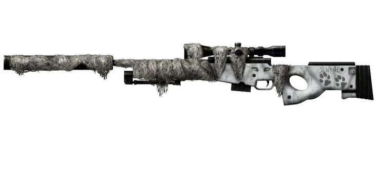 L96A1 Sniper Rifle for long distance shots.