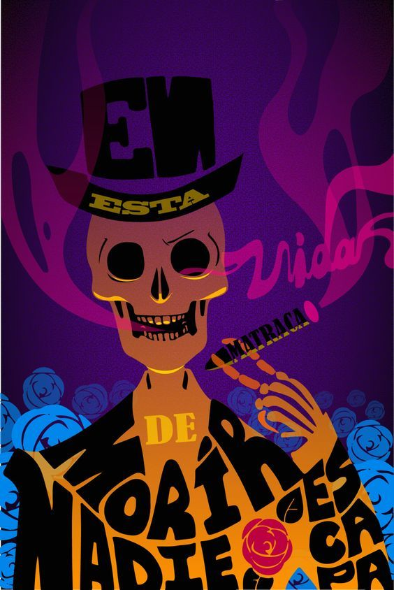 Raiily's art — This doesn't look as I imagined but wtvr Day Of The Dead Skull Tattoo, Scary Games, Mexico Style, O Gas, Mexican Art, Skull And Bones, Memento Mori, Skull Art, Cute Wallpapers