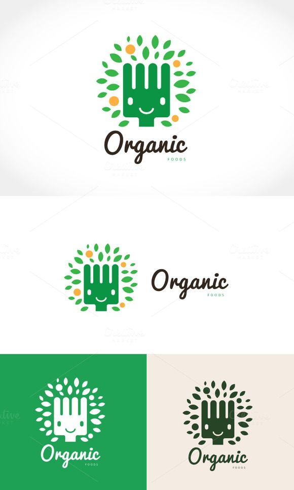 Organic Food by Super Pig Shop on Creative Market
